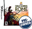 History: Great Empires: Rome - PRE-OWNED - Nintendo DS