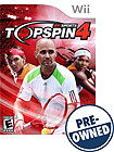Top Spin 4 - PRE-OWNED - Nintendo Wii