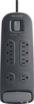 Belkin - 8-Outlet Surge Protector