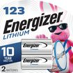 Energizer - 3V 123 Photo Lithium Battery (2-Pack)