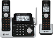 AT&T - DECT 60 Expandable Cordless Phone with Digital Answering System