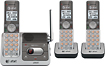 AT&T - DECT 60 Expandable Cordless Phone with Digital Answering System - Gray