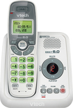 VTech - DECT 60 Expandable Cordless Phone with Digital Answering System - White/Gray