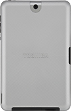 "Toshiba Back Cover for 10"" Toshiba Tablets - Silver Sky"