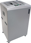 BOXIS autoshred - Microcut Paper Shredder - Silver/Gray