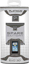 Buy at&t phones - Platinum Series Lithium-Polymer Battery for HTC EVO 3D Mobile Phones