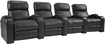 Buy Home Theater Systems   - TheaterSeatStore Headliner 4-Seat Straight Leather Home Theater Seating