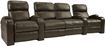 Buy Home Theater Systems   - TheaterSeatStore Headliner 2-Seat Straight Leather Home Theater Seating with Love Seat