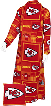 Fabrique Innovations - Kansas City Chiefs Pillow Snuggie