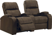 Buy Home Theater Systems   - TheaterSeatStore Headliner 2-Seat Curved Leather Home Theater Seating