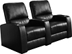 Buy Home Theater Systems   - TheaterSeatStore Director 2-Seat Straight Leather Home Theater Seating