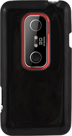 Rocketfish - Case for HTC EVO 3D Mobile Phones - Black