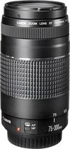 Canon - EF 75-300mm f/4-56 III Telephoto Zoom Lens for Select Canon EOS DSLR Cameras