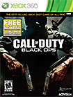 Call of Duty: Black Ops w/ First Strike Content Pack (Xbox 360 or PS3) $19.99
