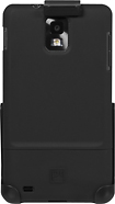 Platinum Series - Hard Case for Samsung Infuse Mobile Phones - Black