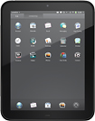 HP - TouchPad Tablet with 16GB Memory - Black