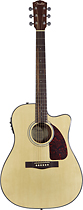 Fender - CD-140SCE Dreadnought Cutaway Guitar - Natural