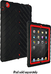 Gumdrop Cases - Drop Series Case for Apple iPad 2 - Black/Red