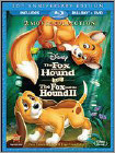 Fox and the Hound/Fox and the Hound II [30th Anniverary Edition] [3 Discs] [Blu-ray/DVD] - Blu-ray Disc