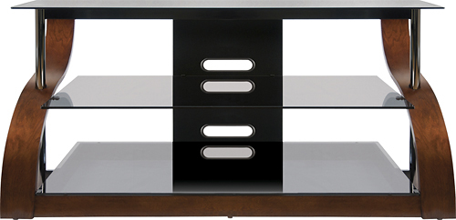 Bell'O - TV Stand for Flat-Panel TVs Up to 55 - Espresso (Brown)