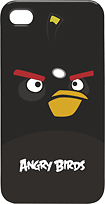 Gear4 - Angry Birds Case for Apple iPhone 4 - Black