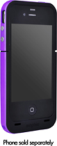 Mophie - Juice Pack Plus for Apple iPhone 4 and 4S - Purple
