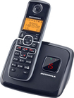 Motorola - DECT 60 Expandable Cordless Phone with Digital Answering System