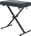 Tour Grade - X-Style Keyboard Throne - Black