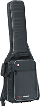 Tour Grade - Padded Gig Bag for Most Electric Guitars - Black/Gray