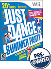 Just Dance: Summer Party Limited Edition - PRE-OWNED - Nintendo Wii