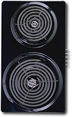 "Buy Cooktops - GE 8"" and 6"" Calrod Coil Module for Select-Top Modular Downdraft Cooktops - Black"