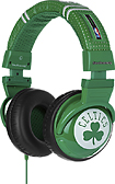 Skullcandy - Rajon Rondo Hesh Over-the-Ear Headphones - Green/White