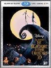 Nightmare Before Christmas (3-D) (W/Dvd) (Wbr) (Widescreen) - Blu-ray 3D