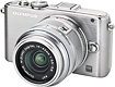 Olympus - E-PL3 123-Megapixel Digital Compact System Camera with 14-42mm IIR Lens - Silver
