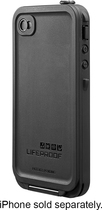 LifeProof - Case for Apple iPhone 4 and 4S - Black