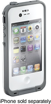 LifeProof Case for Apple iPhone 4 - White