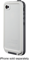LifeProof - Case for Apple iPhone 4 and 4S - White