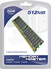 Memory Master - 512MB PC-3200 DIMM Desktop Memory
