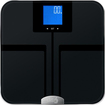 EatSmart - Precision GetFit Digital Body Fat Scale - Dark Blue