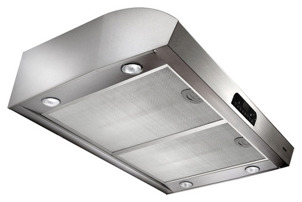 Broan - Evolution QP4 Series 30 Convertible Range Hood - Stainless Steel (Silver)