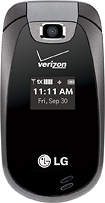 LG - Revere Mobile Phone - Black (Verizon Wireless)