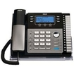 RCA - Expandable Corded Phone System - Black, Silver