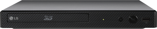 LG - BP550 - Streaming 3D Wi-Fi Built-In Blu-Ray Player - Black