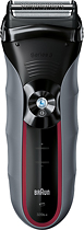 Braun - Series 3-320 Solo Shaver - Black/Gray