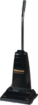 Panasonic - Upright Commercial Vacuum - Black