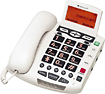 ClearSounds - Corded Speakerphone with Caller ID and Call Waiting - White