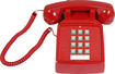 Cortelco - Corded Phone - Red