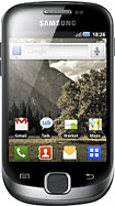 Samsung - Galaxy Fit S5670 Mobile Phone (Unlocked) - Black/Silver