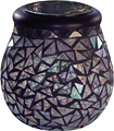 Smart Solar - Solar-Powered Mosaic Glass Lantern