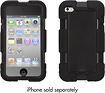Griffin Technology - Tracker Case for 4th-generation Apple iPod touch - Black
